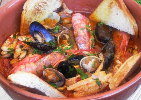 Zuppetta di pesce fresco dell'adriatico